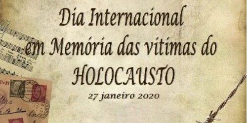 27 de janeiro – Dia Internacional em Memória das Vítimas do Holocausto | Direção-Geral da Educação